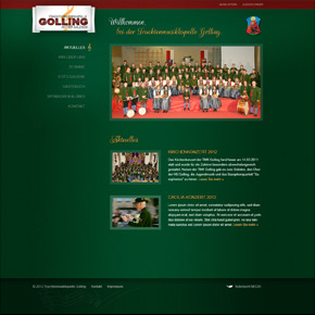 Website Christl Alm